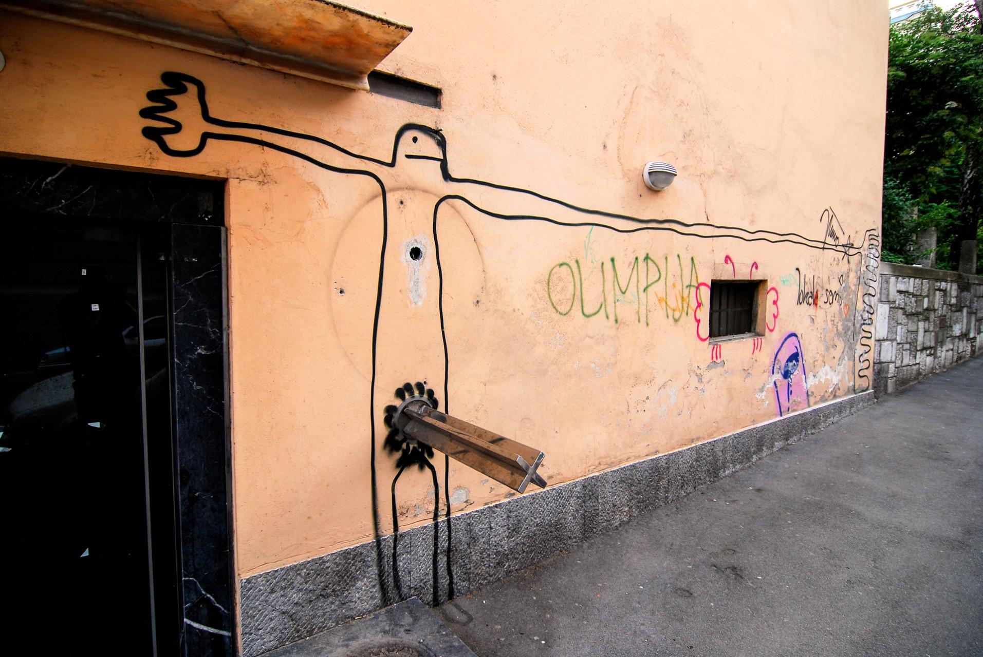 slovenia, Ljubljana 2007. Artwork.