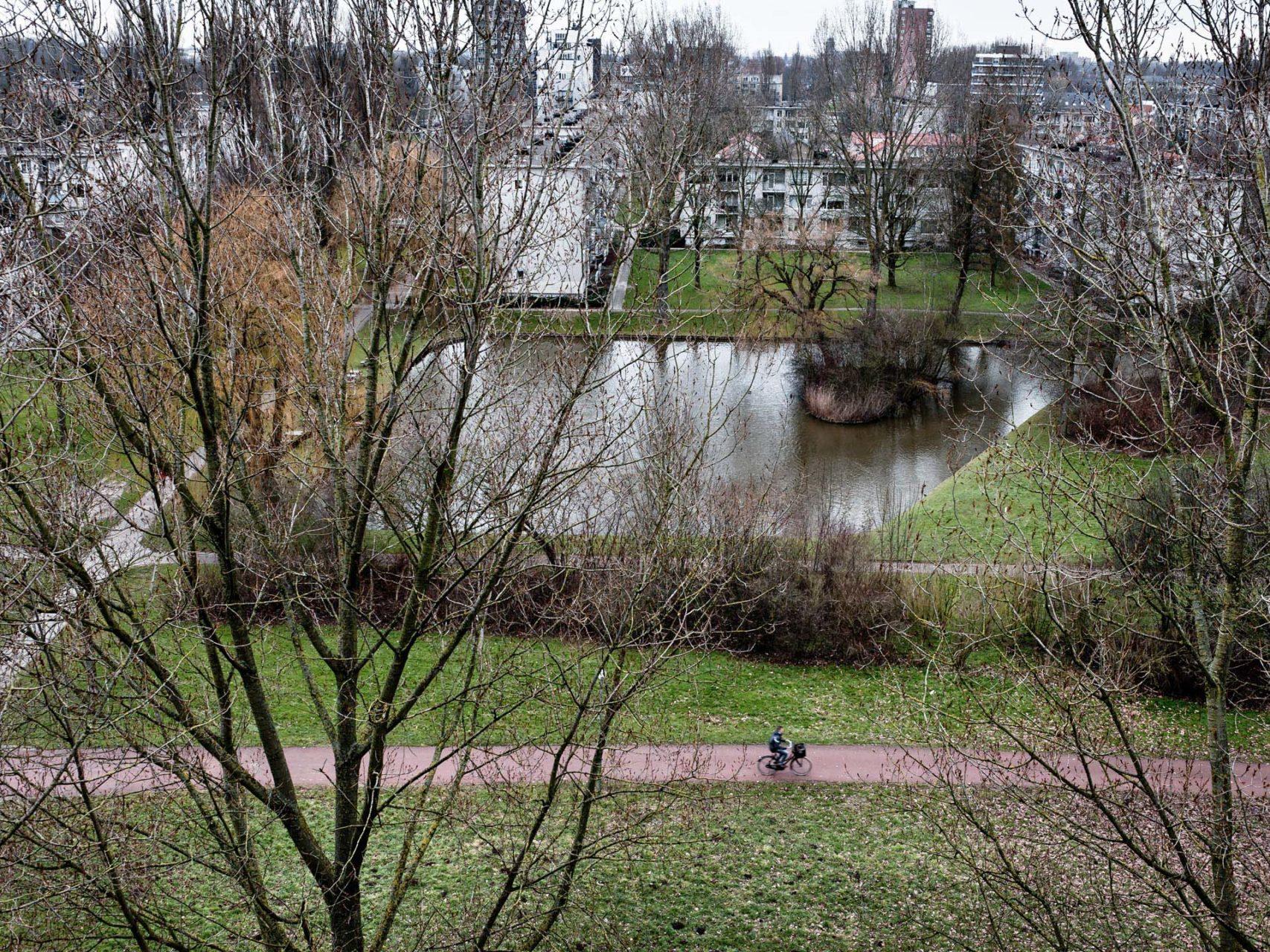Uitzicht vanaf Watersteyn, Dordrecht 2013.