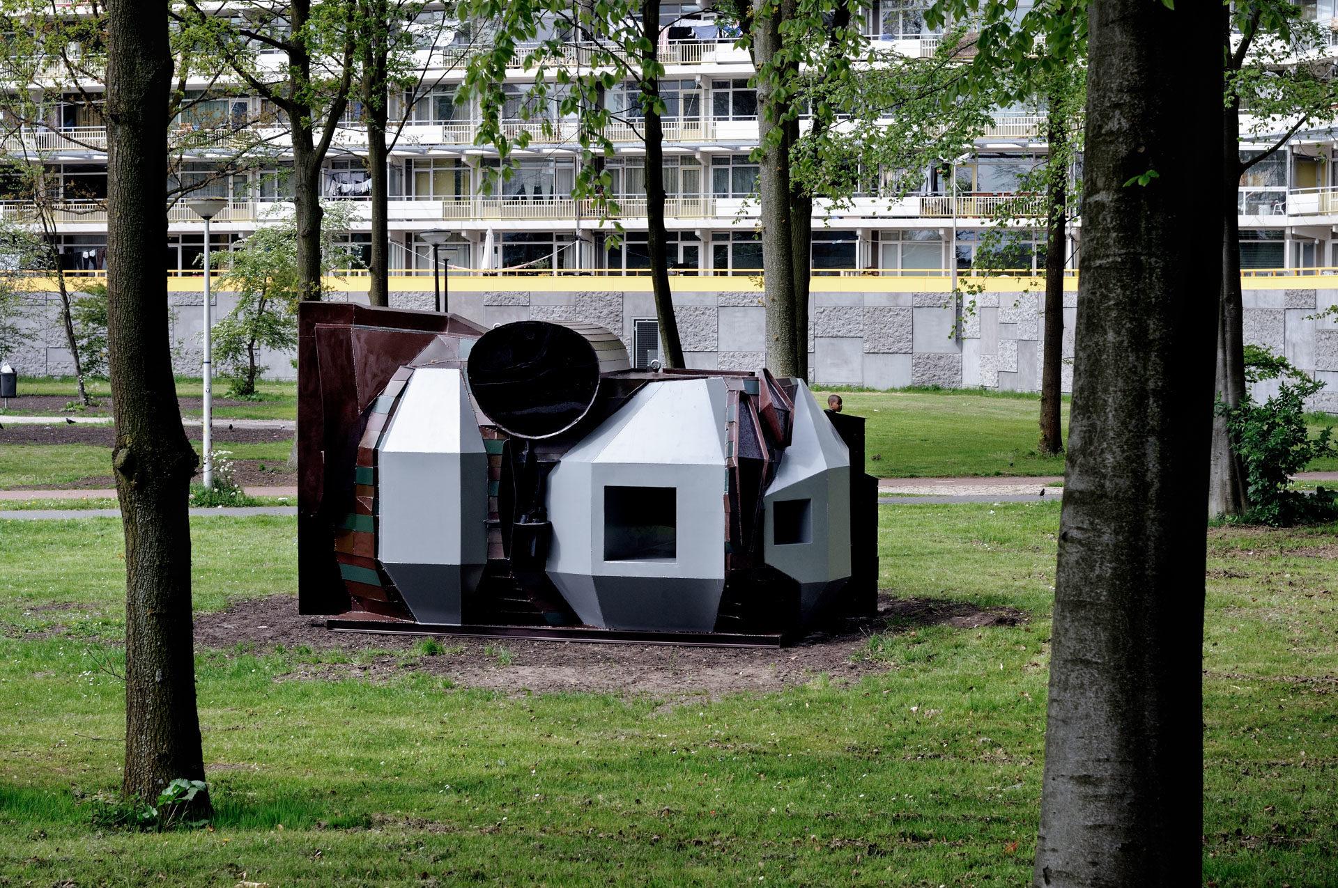 Rob Voerman, Not-In-My-Backyard. Open Source/ Straat van Sculpturen, 2009.